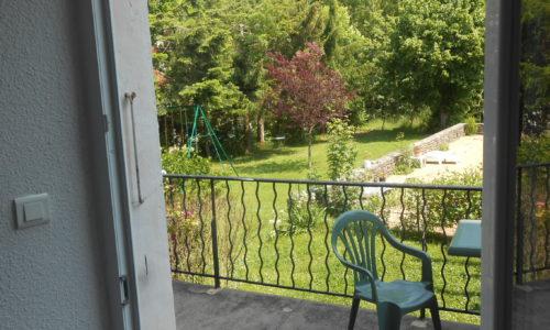 chambre pont balcon