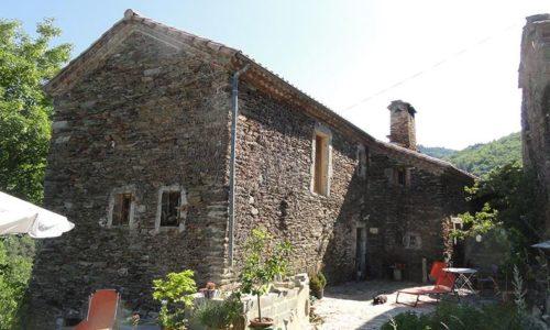 façade bastide de trémiéjols