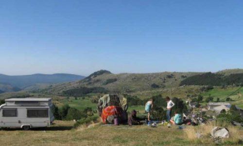 paysage camping la barette
