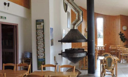 salle de restaurant le Refuge