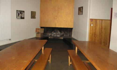 salle à manger gite communal