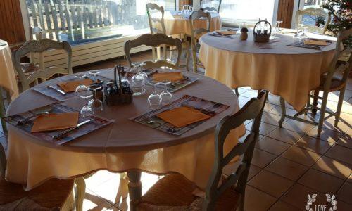 salle de restaurant le Chalet