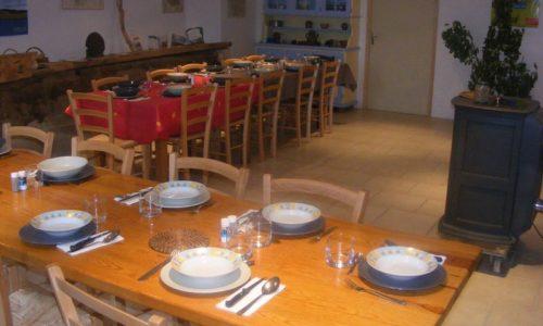 table d'hôte au mont lozère